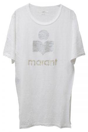 ISABEL MARANT ETOILE marantプリントTシャツ [19SS]