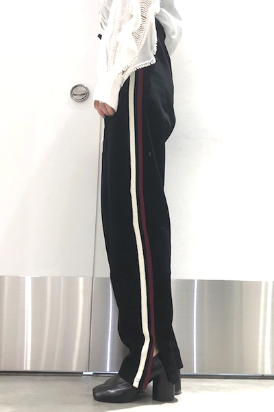 ISABEL MARANT ETOILE .【40%OFF 】サイドライン裾ZIPイージーパンツ