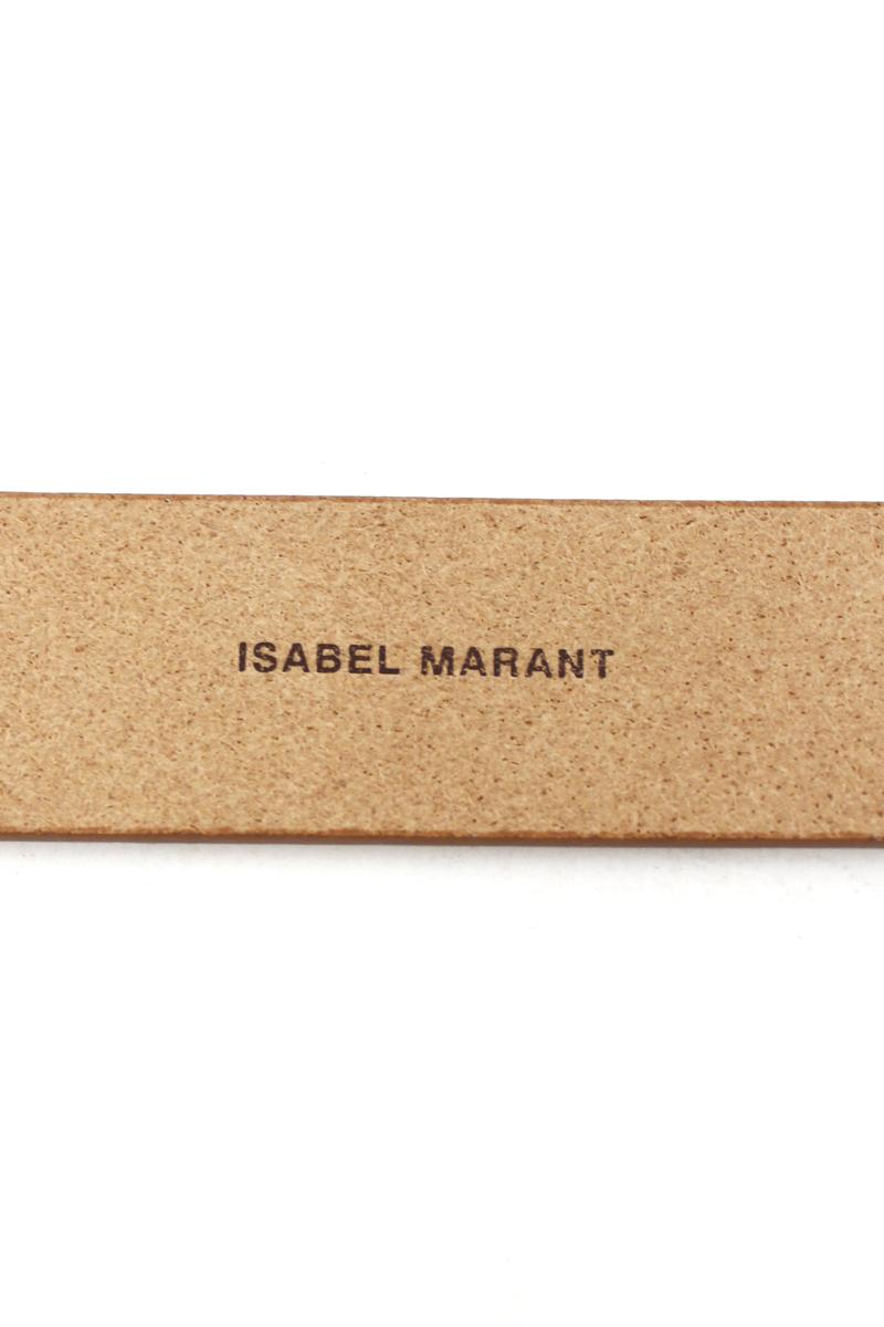 ISABEL MARANT ETOILE レザーバックルレスベルト [19SS]