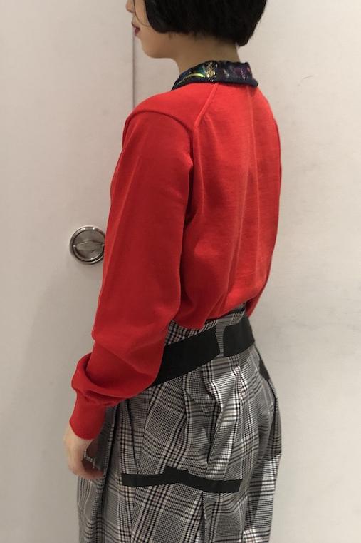 kolor 異素材カラーニットカーディガン【19SS】