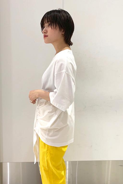 MAISON MARGIELA 【30%OFF】ドローストリングデザインTシャツ [19SS]