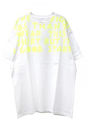 MAISON MARGIELA ワイドAIDS Tシャツ[19SS]