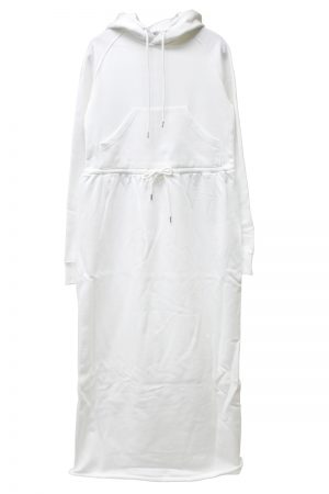 JOHN LAWRENCE SULLIVAN フーディースウェットドレス【19SS】
