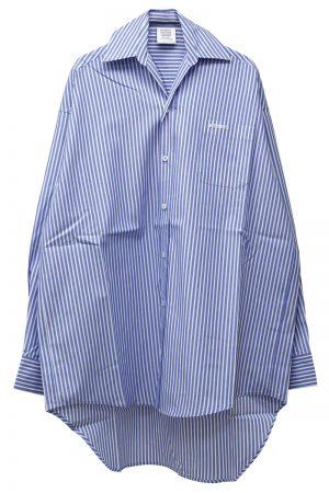 VETEMENTS 【30%OFF】コットンスモールカラーシャツ (WOMEN'S) [19SS]
