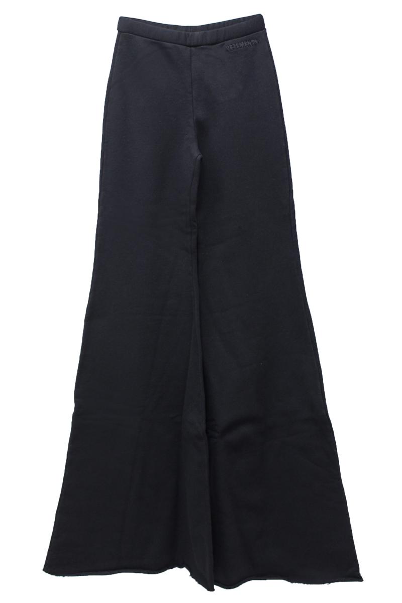 VETEMENTS 裾フレアジョギングパンツ (WOMEN'S) [19SS]