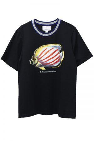 3.1 PHILLIP LIM トロピカルフィッシュプリントTシャツ【19SS】