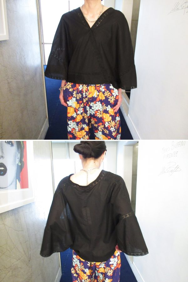 QUEENE and BELLE 【40%OFF】ラップシャツ [19SS]