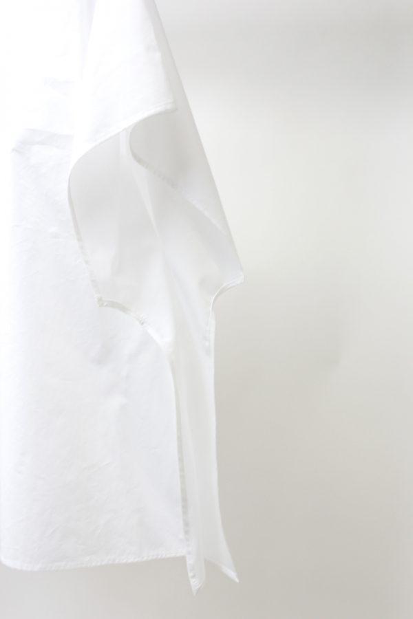 HACHE バックボタン半袖ブラウス【19SS】