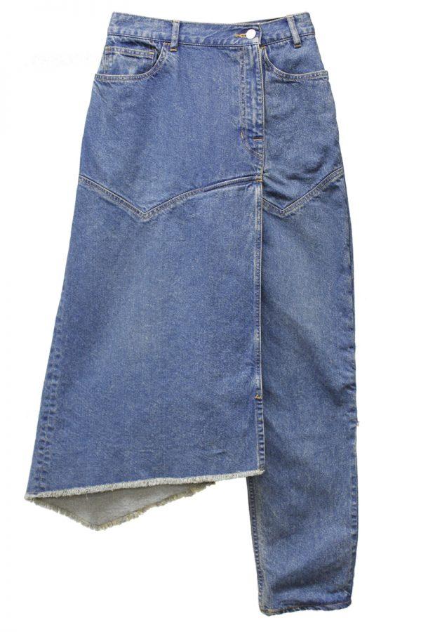 CLEANA デニムスカートパンツ【19SS】