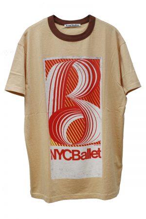 Acne Studios グラデーションロゴプリントTシャツ [19SS]