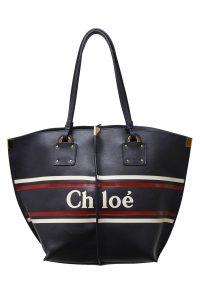 CHLOÉ フロントロゴハンドバッグ【19SS】