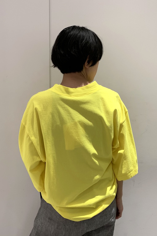 HACHE ワイドTシャツ【19SS】