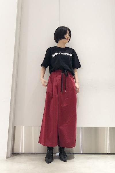 MARNI ワイドタックパンツ【19SS】