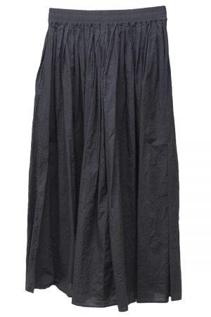 08 SIRCUS ギャザーロングスカート【19SS】