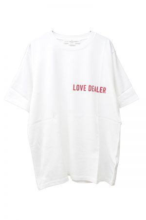 GOLDEN GOOSE DELUXE BRAND LOVE DEALER Tシャツ(WHITE)【19SS】