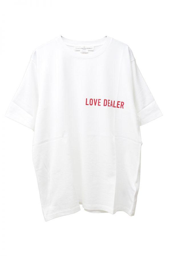 GOLDEN GOOSE DELUXE BRAND LOVE DEALER Tシャツ(WHITE)【19SS】
