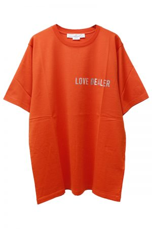 GOLDEN GOOSE DELUXE BRAND LOVE DEALER Tシャツ(ORANGE)【19SS】