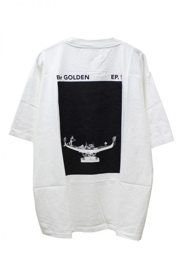GOLDEN GOOSE DELUXE BRAND バックプリントオーバーサイズTシャツ【19SS】