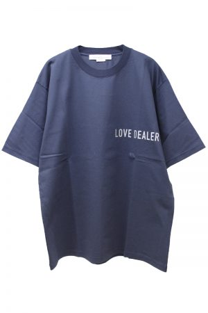 GOLDEN GOOSE DELUXE BRAND LOVE DEALER Tシャツ(NAVY)【19SS】