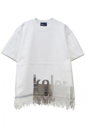 kolor 裾コーティングTシャツ【19SS】