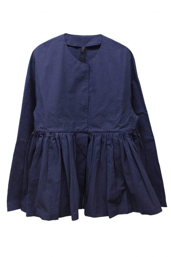 SARA LANZI ギャザー切替ジャケット【19SS】
