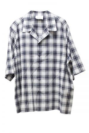 STAND ALONE チェック胸ポケットオーバーシャツ【19SS】