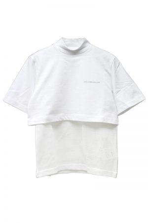 JOHN LAWRENCE SULLIVAN 【40%OFF】レイヤードモックネックTシャツ【19SS】
