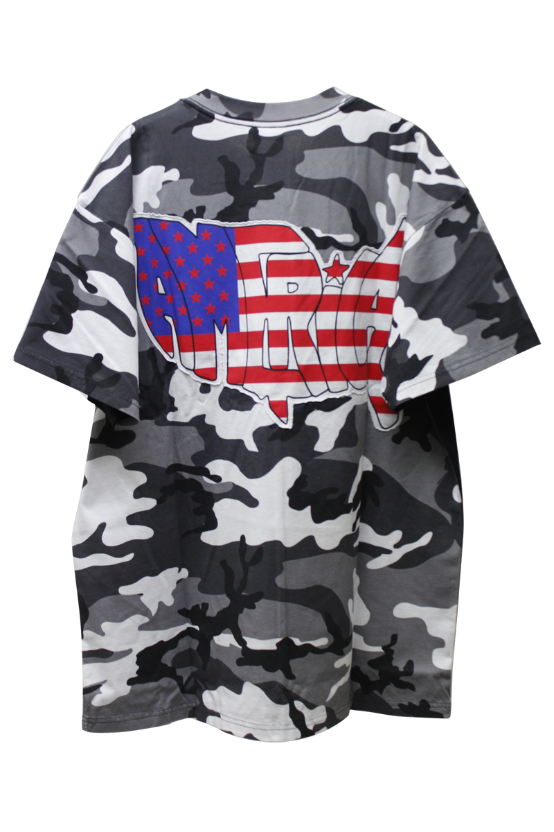 VETEMENTS 【40%OFF】CUT OUT RUSSIA Tシャツ【19SS】