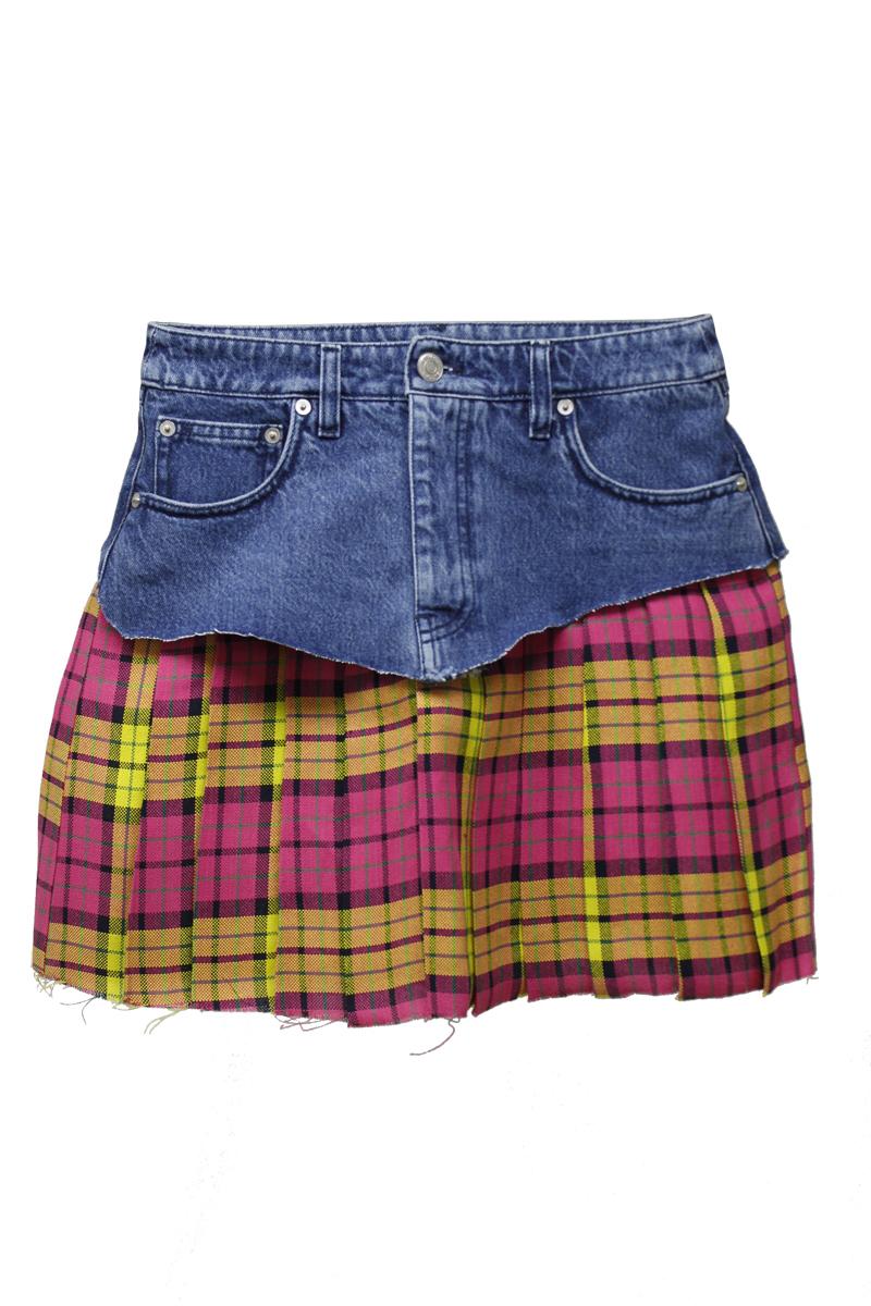 VETEMENTS SCHOOL GIRLスカート