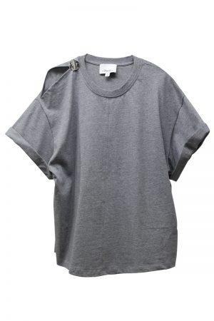 3.1 PHILLIP LIM WショルダースリットTシャツ [19SS]