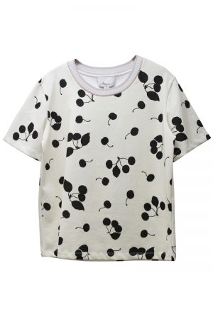 3.1 PHILLIP LIM チェリープリントTシャツ [19SS]