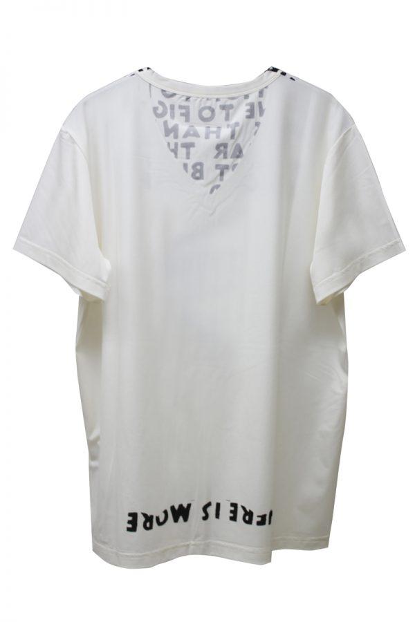 MM6 MAISON MARGIELA AIDSプリントTシャツ  [19SS]