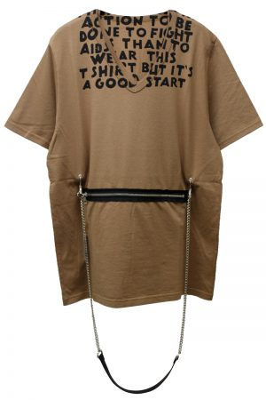 MM6 MAISON MARGIELA 2WAY AIDS Tシャツ [19SS]