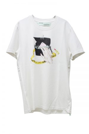 OFF-WHITE KATIE Tシャツ (WHITE)【19SS】