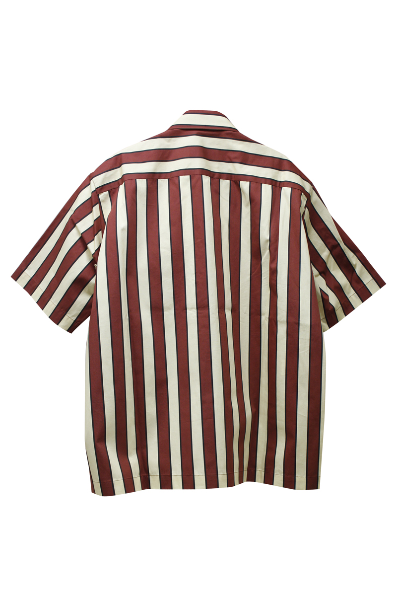 PLAN C 【40%OFF】ストライプボタンダウンシャツ