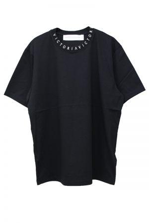 VICTORIA VICTORIA BECKHAM ネックロゴTシャツ【19SS】