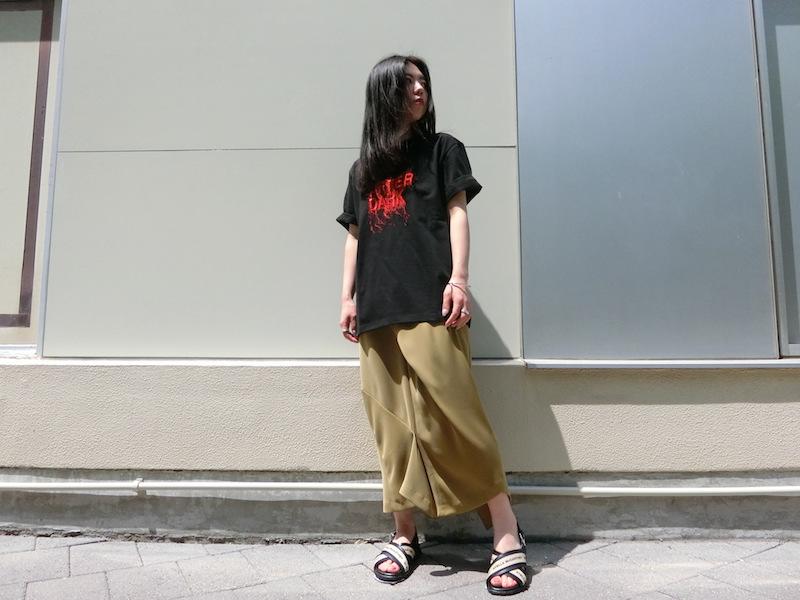 サリバンのしゃらしゃらTシャツ。