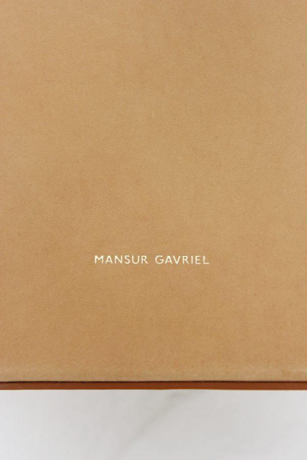 MANSUR GAVRIEL サークルレザーバッグ