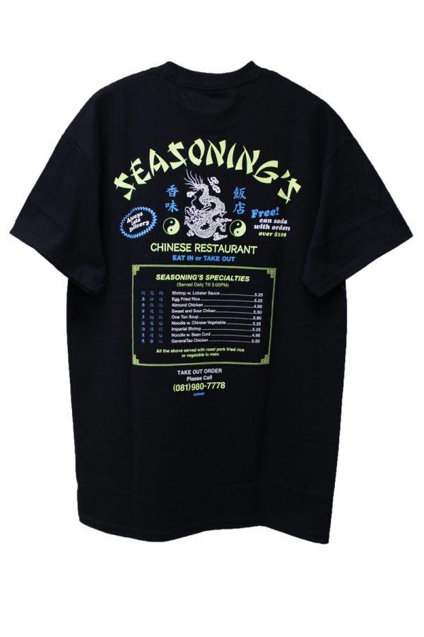 SEASONING 【20%OFF】CHINESE Tシャツ【19SS】