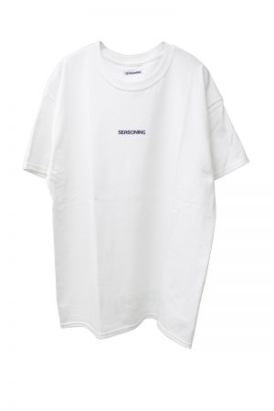SEASONING 【20%OFF 】SEASONING ロゴTシャツ【19SS】
