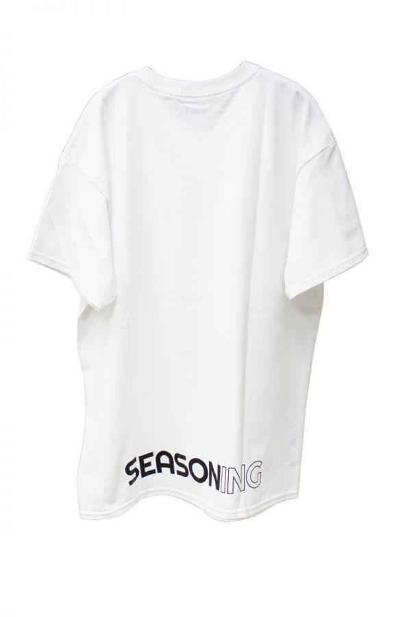 SEASONING 【20%OFF 】SEASONING ロゴTシャツ【19SS】