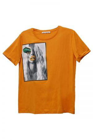 Acne Studios 【TIME SALE-50%OFF(5/24~5/28)】フォトプリントパッチTシャツ