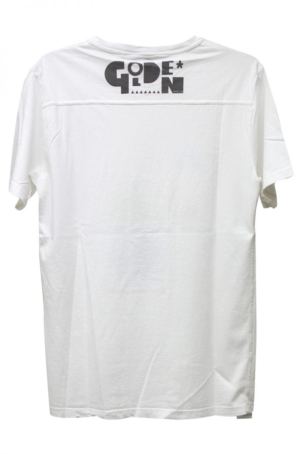 GOLDEN GOOSE DELUXE BRAND LONGA025デザインTシャツ