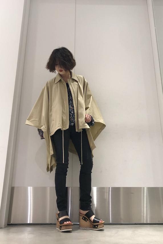 JW ANDERSON 【50%OFF】ケープトレンチジャケット【19SS】