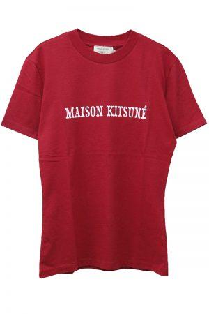 MAISON KITSUNÉ ロゴプリントTシャツ【19SS】