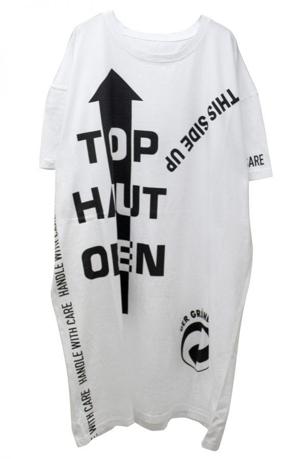 MAISON MARGIELA 【50%OFF】ロゴプリントオーバーTシャツ [19SS]