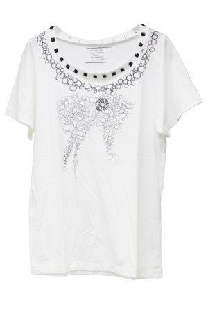 petite robe noire 【TIME SALE-50%OFF(5/24~5/28)】MOGGIE×petiteビジュー付Tシャツ