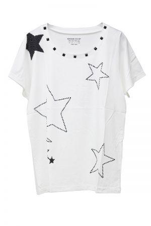 petite robe noire 【TIME SALE-50%OFF(5/24~5/28)】MOGGIE×petiteスターTシャツ