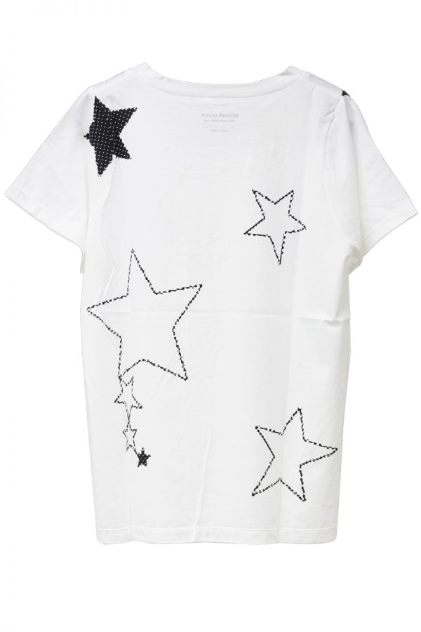 petite robe noire MOGGIE×petiteスターTシャツ
