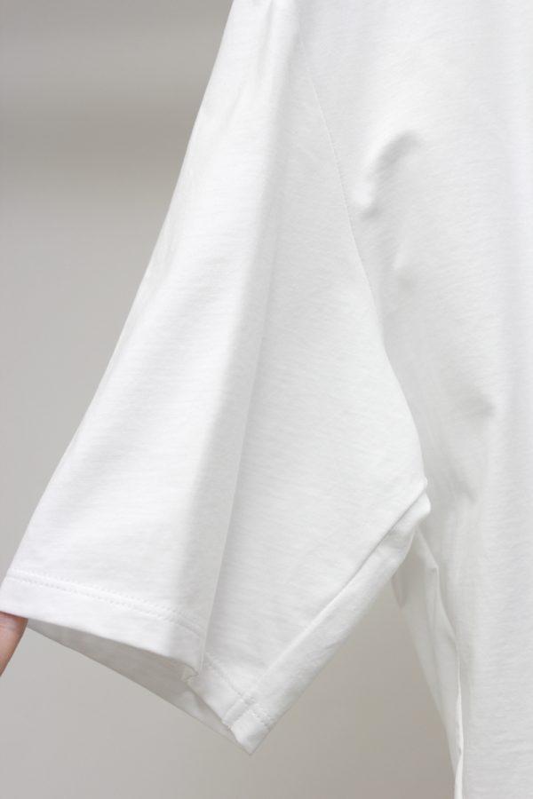 08 SIRCUS アシンメトリーTシャツ【19AW】